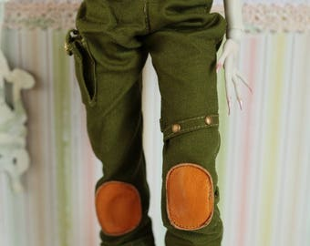 Army Style Pants for Popovy Sisters doll and similar size