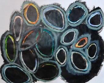 Painting Circles Black