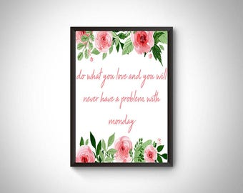 Office prints, office digital prints, office wall art, office decor, motivation quotes decor, motivation, job quotes, Inspirational quotes