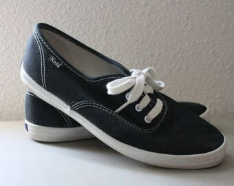Keds Champion Oxford Canvas Shoes c1980s