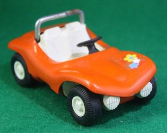 Vintage Tonka mini orange hippie dune buggy.  Made in USA