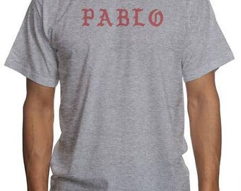 PABLO Kanye West   I Feel Like Pablo Hoodie   The Life of Pablo Shirt   Hip Hop Rap Music T Shirt   Kanye Yeezy Yeezus T Shirt