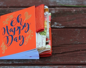 Oh Happy Day Mini Altered Journal