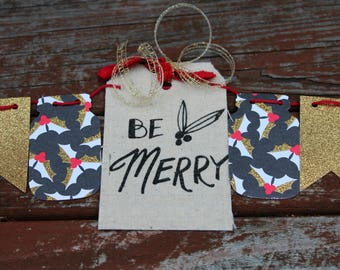 Be Merry Christmas Bunting