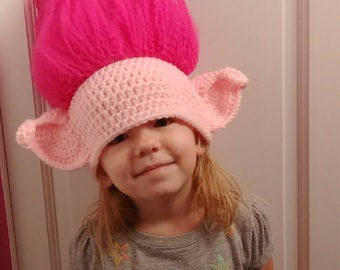 Crochet Pattern For Troll Hat : Troll hat Etsy