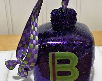 Baby Blocks Decorations - Alphabet Letters - Baby Blocks - Baby Shower Decorations - Baby Decor - New Baby Gift - Glass Ornaments - Alphabet