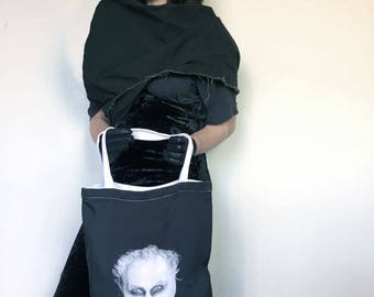 Carnival of Souls Tote Bag // Horror Tote // Halloween