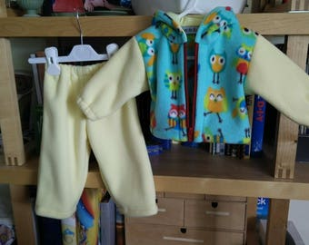 Baby coat and trousers