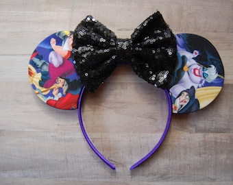 Villain Sequin Bow Ears