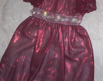 "A.G., 18"" DOLL DRESS .. Clearance .. Hand Made. Fits Preemies Too"