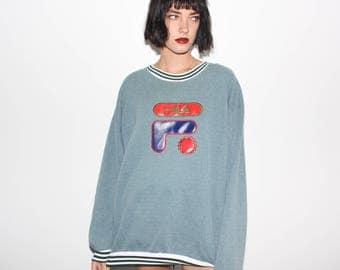 90s Fila Italia Bootleg Sweatshirt