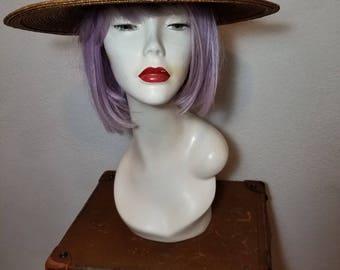FREE  SHIPPING   Designer  Wide Brim Straw Hat
