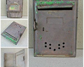 Wall Mount Mailbox Etsy