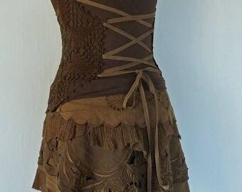 sale!! ROMANTIC LAYER SKIRT short boho romantic lace cosplay