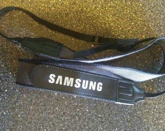 Samsung Camera Strap Charcoal Gray and Black