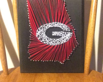 Choose your sports team string art