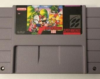 BS Super Mario USA - English Translated - All 4 Weeks - SNES