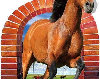 Horse Wall Sticker - AW9074