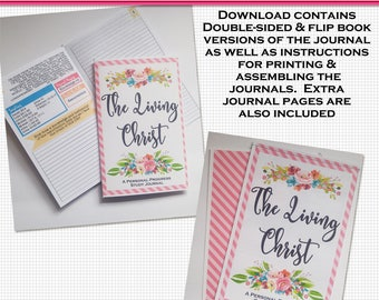 The Living Christ Young Women Personal Progress Journal - Printable Download