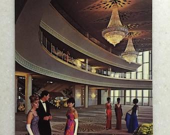 Vintage CA Postcard Los Angeles Music Center Grand Hall The Pavilion 1960's