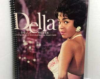 Della Reese Album Cover Notebook Handmade Spiral Journal