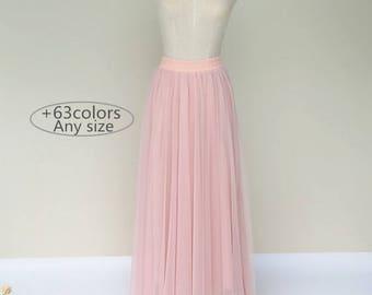 Summer women long tulle skirt dress, floor length lovely adult tutu