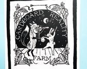 Postcard - Cardboard Reality Farm & Studio Logo