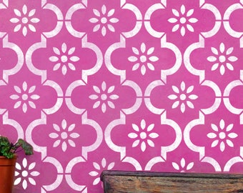 JANNAH Moroccan Furniture Wall Floor Craft Stencil - JANN01