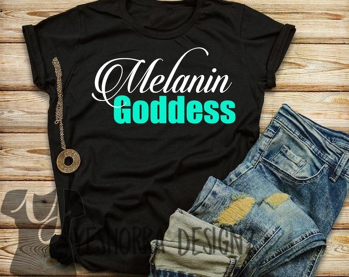 Melanin Goddess Shirt, Melanin Queen Shirt, Black Girl Magic, My Black Is Beautiful, Black Girls Rock, Melanin Queen, African Queen