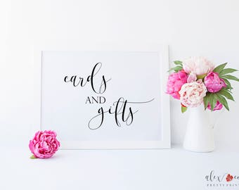 Cards and Gifts Sign. Cards Sign. Gifts Sign. Printable Wedding Signs. Wedding Printables. Wedding Print. Wedding Download. Wedding Signs.