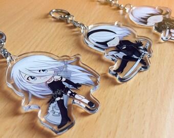 NieR Automata【 Clear Acrylic Keychain 】
