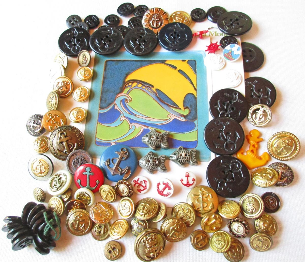 Bulk buttons for crafts - Sold By Crayongardens