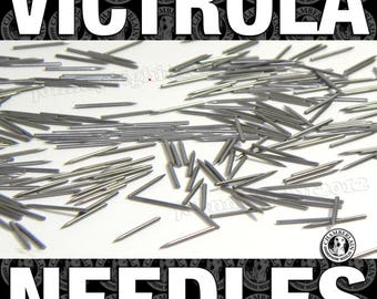 1000 polished Gramophone NEEDLES for Vintage Victrola Phonograph 78rpm Shellac Records ETSY