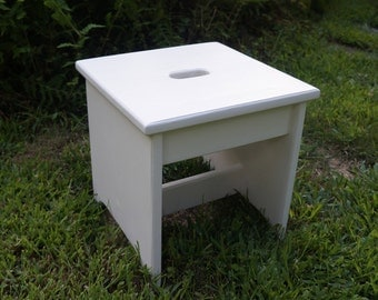 Handcrafted Heavy Duty TALL Step Stool Solid Pine Wooden Adult Bedside Kitchen 12 & Handcrafted Heavy Duty Step Stool Solid Pine Wooden Adult islam-shia.org