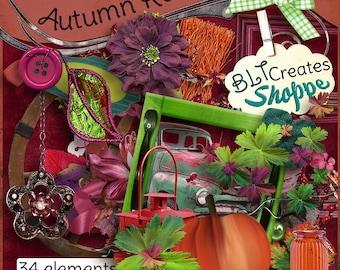Autumn Rainbow Digiscrap Kit