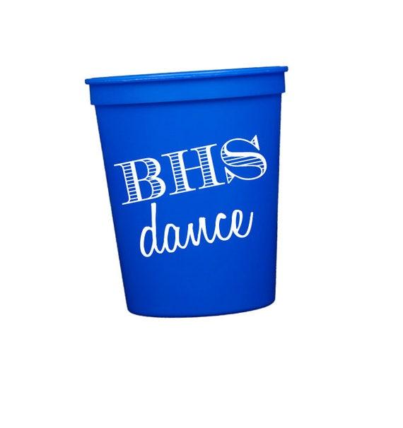 Dance team cups
