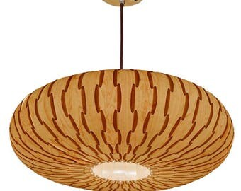 5% OFF SALES!Umbrella Pendant Light,made of real maple veneer,Eco-friendly, design lamp,dining room light, ceiling light,Lighting,pendant
