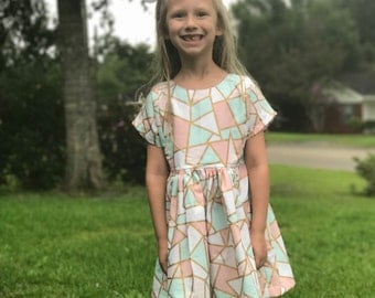 Toddler Dress - Girls Dress- Birthday Dresses for Girl - Summer Dresses for Girls - Kids Dresses - Twirl Dress - Dress - Baby Girl - Kids