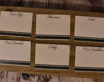 Chic Tags: 3x4, various designs