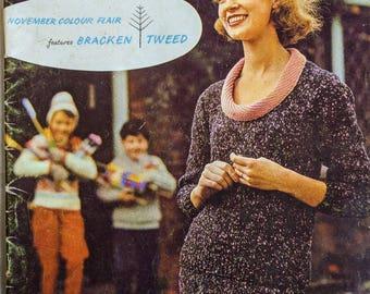 Vintage Stitchcraft Magazine November 1961