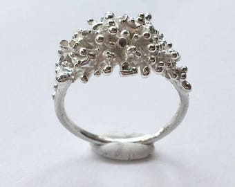Statement Thistle Ring