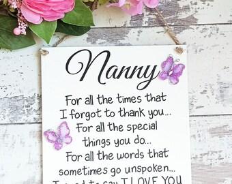 Nanny Gift Grandmother Gift Grandma Gift Nan Gift