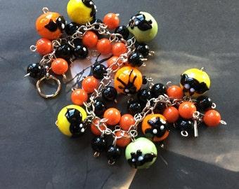 Halloween Jewelry, Halloween Bracelet, Scary Bracelet, Scary Jewelry, Halloween Item
