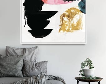 living room art prints. Large Abstract Painting  abstract art large wall Printable Art Dan Living room Etsy