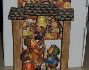 Let's Tell The World Goebel Hummel Century Figurine #487 With Original Box RARE Collectible Christmas Gift!