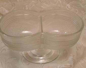 Double Bowl Sherbert Glass     Set of 4