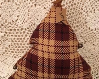 Primitive Christmas Tree/shelf sitter/Holiday decor HANDMADE