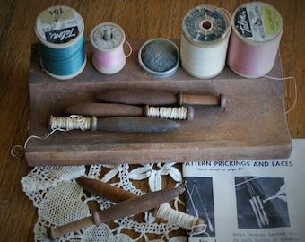 Vintage Sewing Supplies/ Vintage Bobbins
