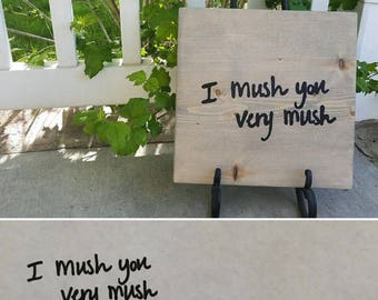 Handwriting Copied Custom Sign- Turn Your Own Handwriting into a Wood Painted Sign!