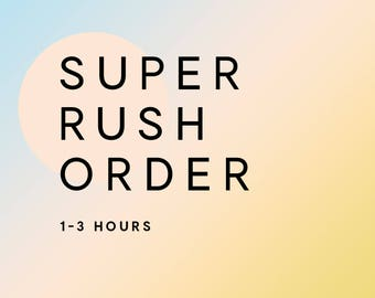 Super Rush My Snapchat Filter (Receive your filter within 3 hours if I'm online. PLEASE READ DESCRIPTION for online status.)
